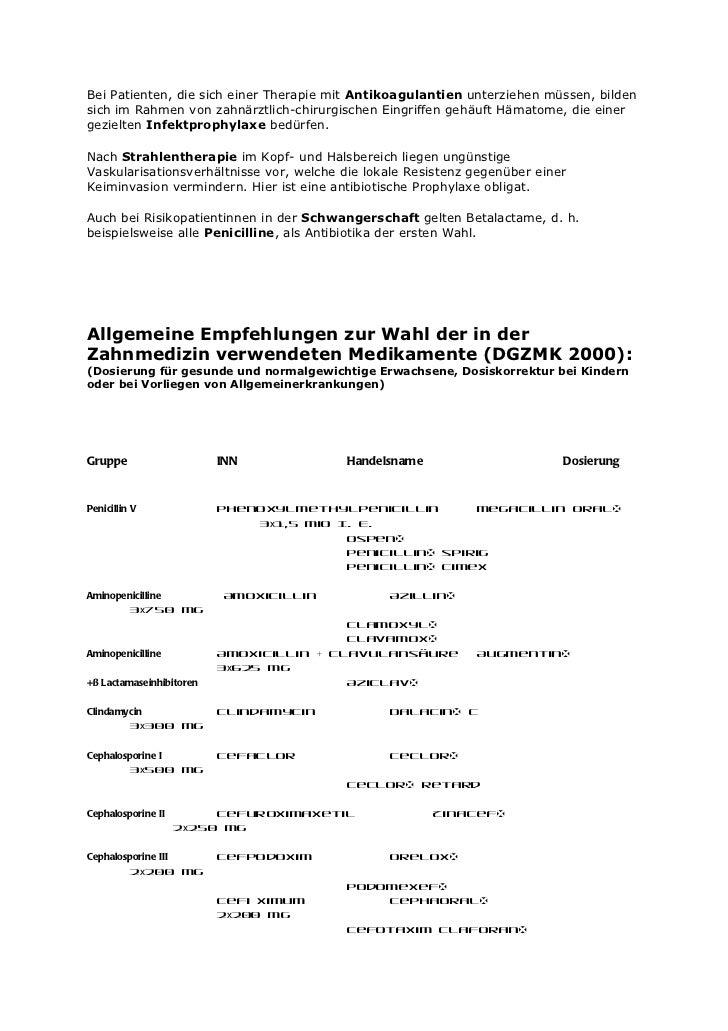 amoxicillin dose for dental abscess
