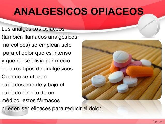tipos de analgesicos no esteroideos