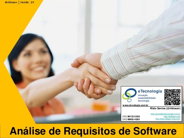 Analise de Requisitos Software