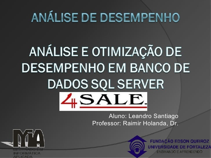 Analise Desempenho 4 Sale