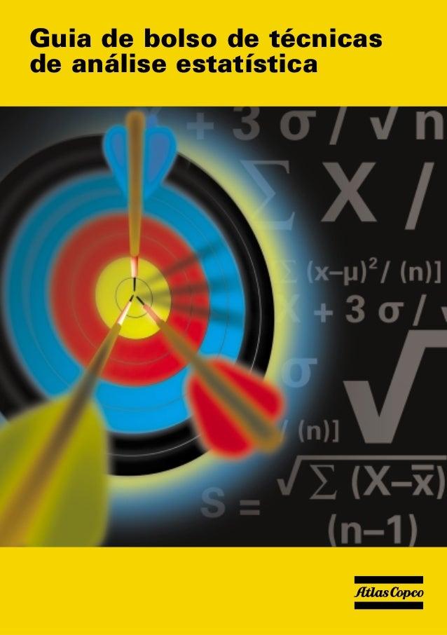 Guia de bolso de técnicas de análise estatística
