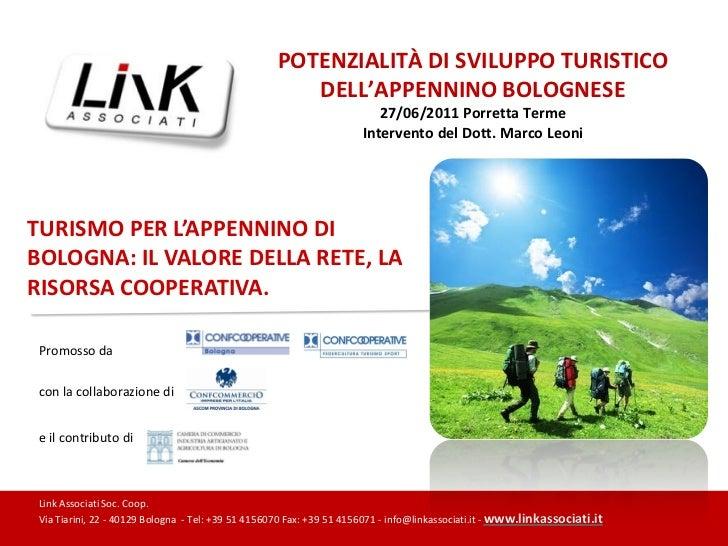 Analisi del turismo dell'appennino bolognese v05