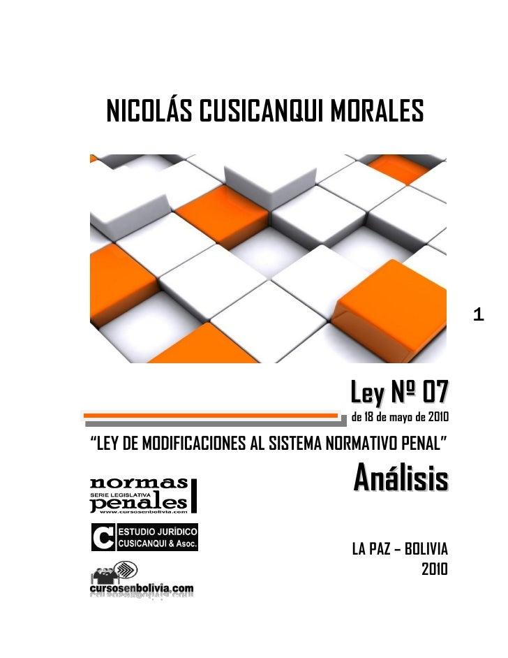 NICOLÁS CUSICANQUI MORALES                                                            1                                   ...