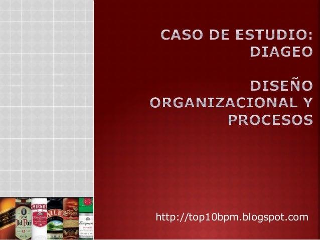 Análisis de la empresa DIAGEO - Diseño organizacional y procesos