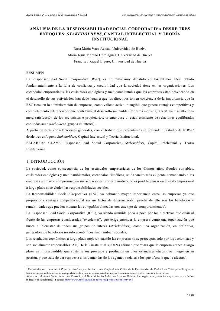 Analisis de la responsabilidad social corporativa
