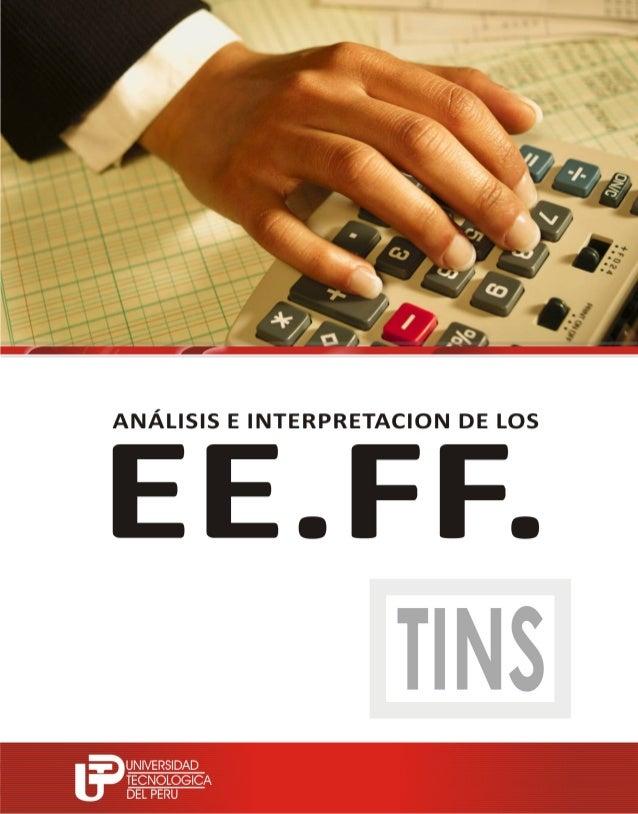 Analisis de los ee ff 2013