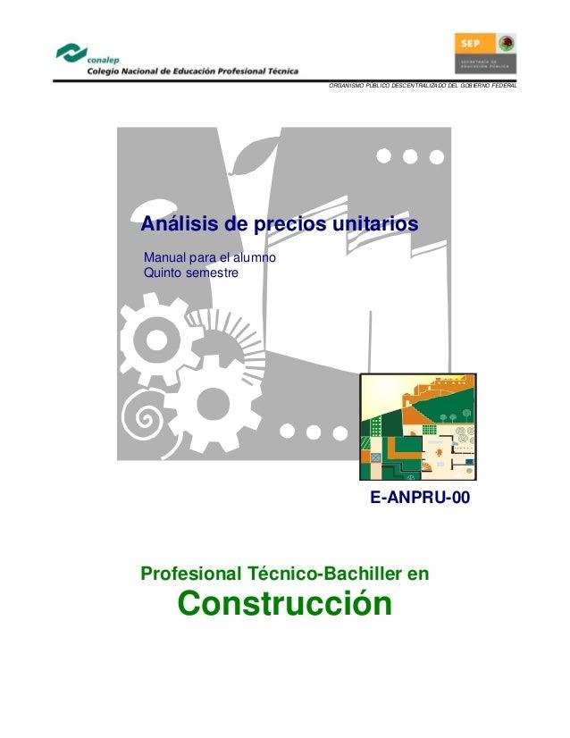 Catalogo precios unitarios 2016 for Precios mano de obra construccion 2016 espana