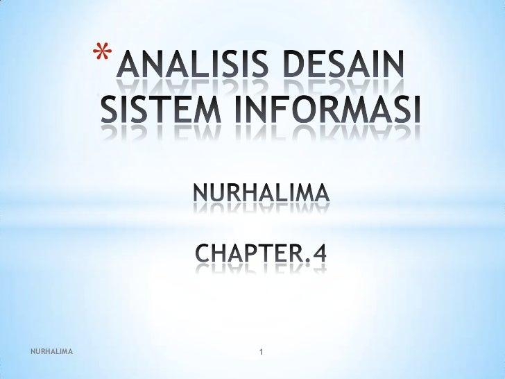 Analisis desain sistem informasi ppt.4