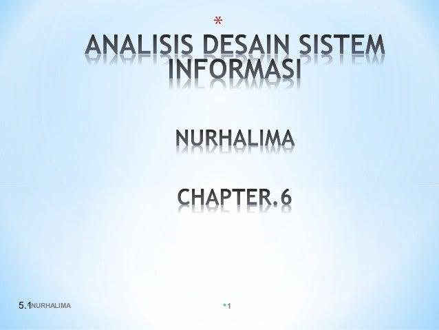 Analisis desain sistem informasi ppt.6