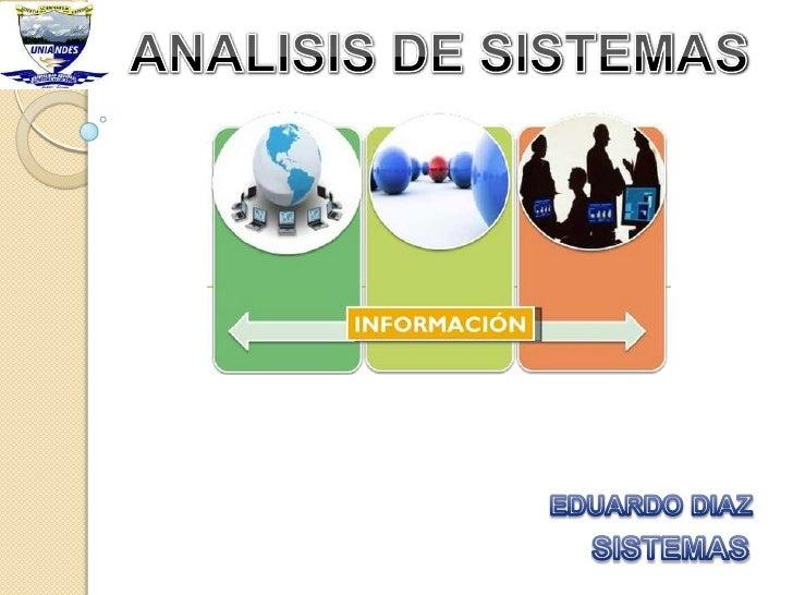 Analisis de sistemas1