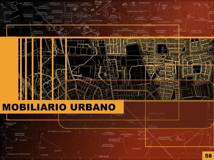 Analisis de sitio for Ejemplos de mobiliario urbano