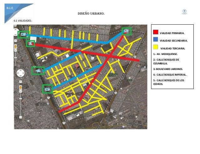 Analisis de tecamac for Tipos de mobiliario urbano pdf