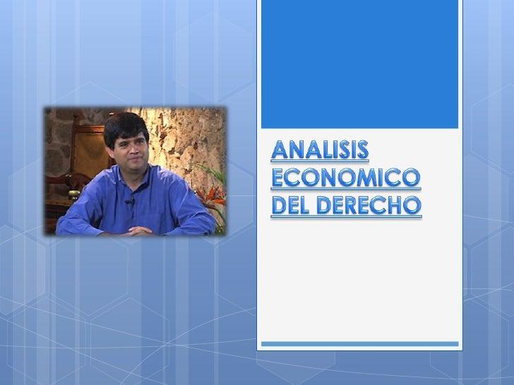    Con esta conferencia el Abogado Alfredo    Bullard Gonzáles nos ayuda a entender un    poco mas sobre el análisis econ...