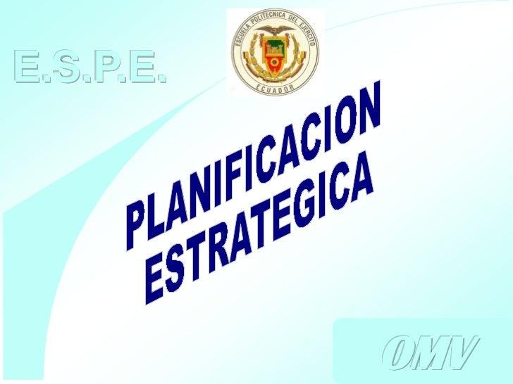E.S.P.E.             OMV           Ing. Oscar Moreno V.                 Consultor        1