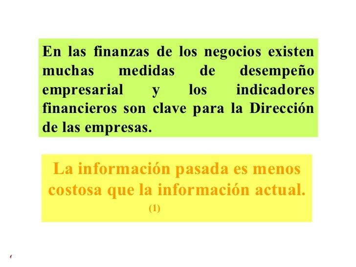 En las finanzas de los negocios existen muchas medidas de desempeño empresarial y los indicadores financieros son clave pa...