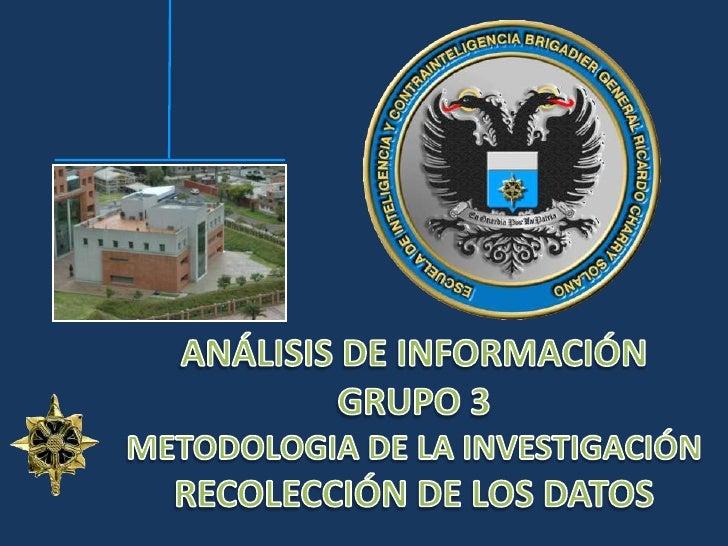 Analisis información exposicion
