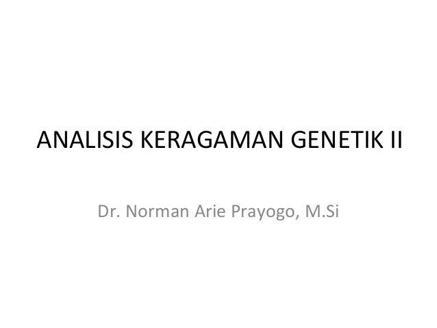 Analisis keragaman genetik_2