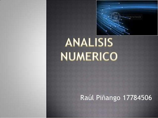 Raúl Piñango 17784506