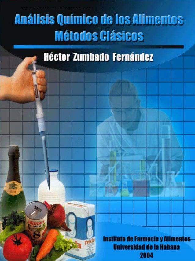 Analisis quimico de  alimentos  hector z.f.