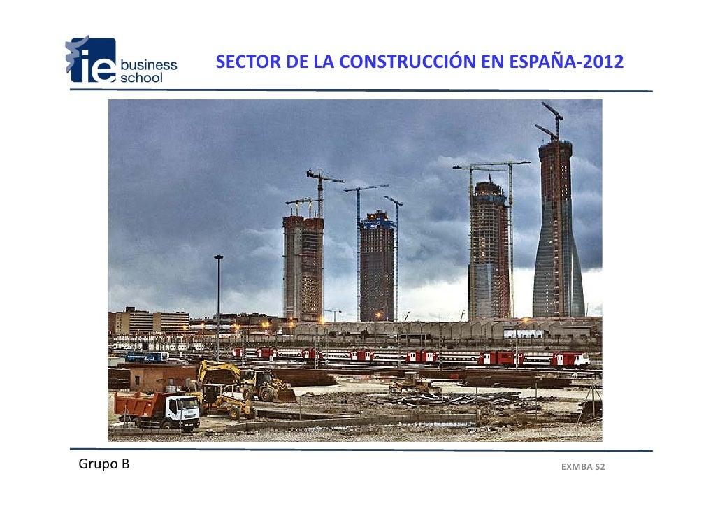 Analisis sector construcción en España y tendencias globales