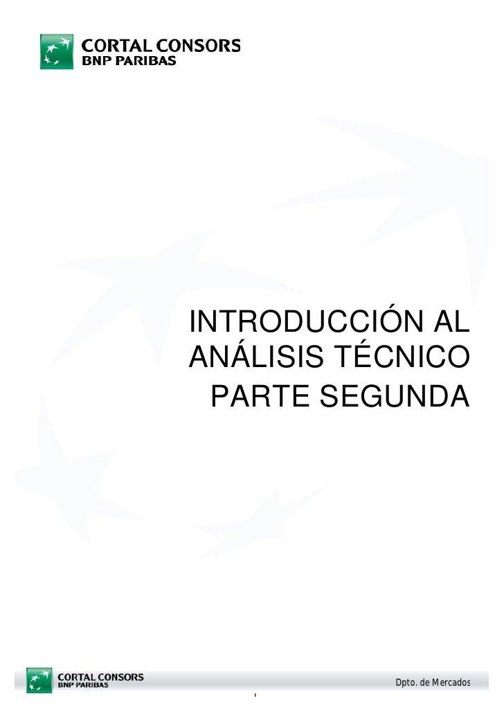 Analisis tecnico parte