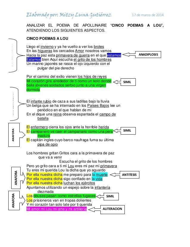 Poemas vanguardistas - Trabajos de investigación - Marioni2012