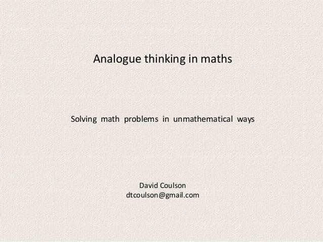 Analogue overheads (short)