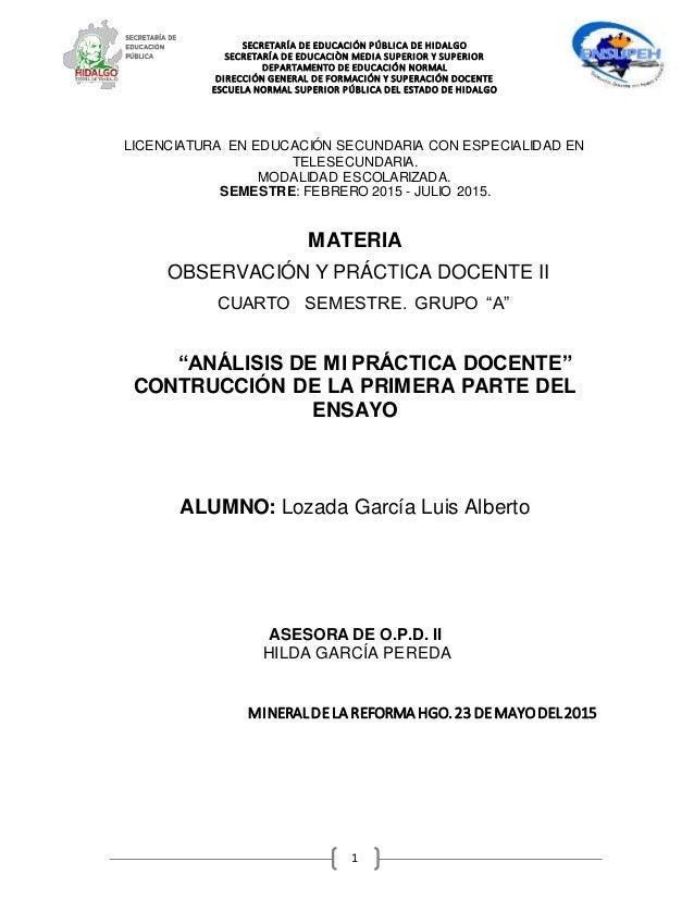 SECRETARÍA DE EDUCACIÓN PÚBLICA DE HIDALGO SECRETARÍA DE EDUCACIÒN MEDIA SUPERIOR Y SUPERIOR DEPARTAMENTO DE EDUCACIÓN NOR...