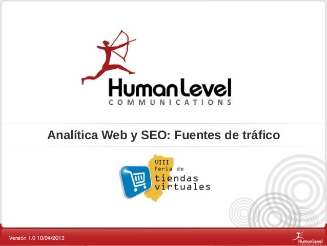 Analítica Web y SEO - Human Level Communications