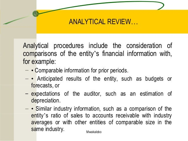 constituional procedure analytical review This adaptation is called analytical review techniques for auditors or arta analytical review procedures should include (1) an.