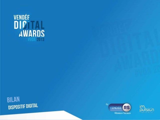 Analyse dispositif web Vendée Digital Awards