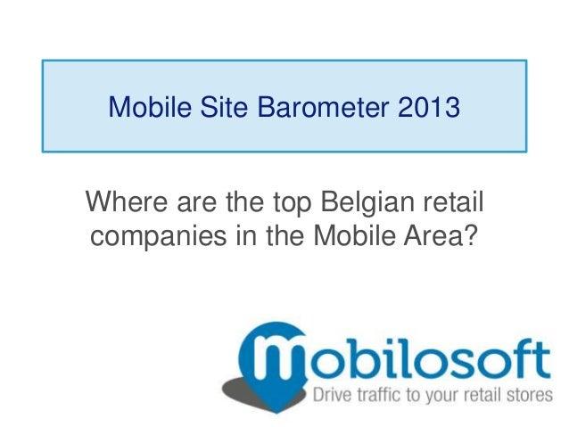 Belgian Mobile Barometer