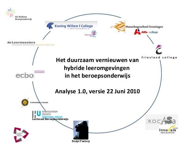Analyse hybride leeromgevingen_22juni2010