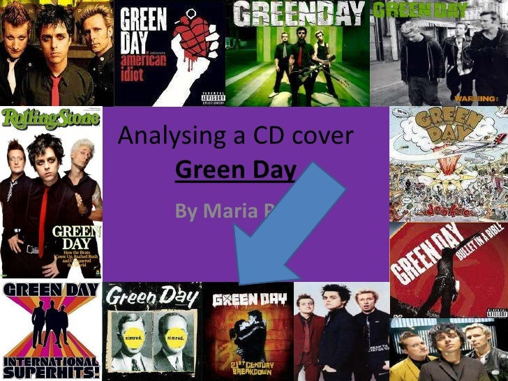 Analysing a CD coverGreen Day<br />By Maria Pinto<br />