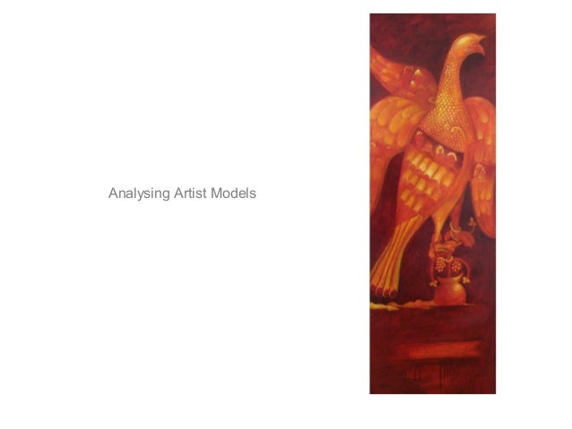 Analysing Artist Models