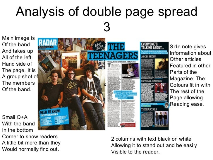 A magazine article