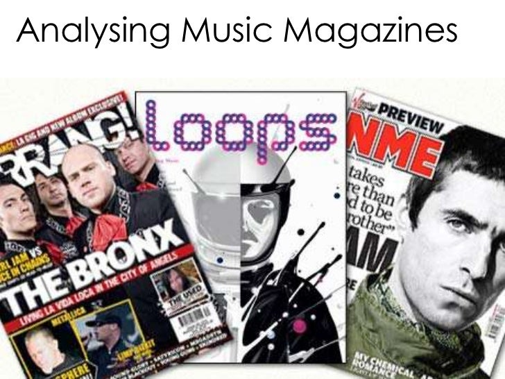 Analysing Music Magazines