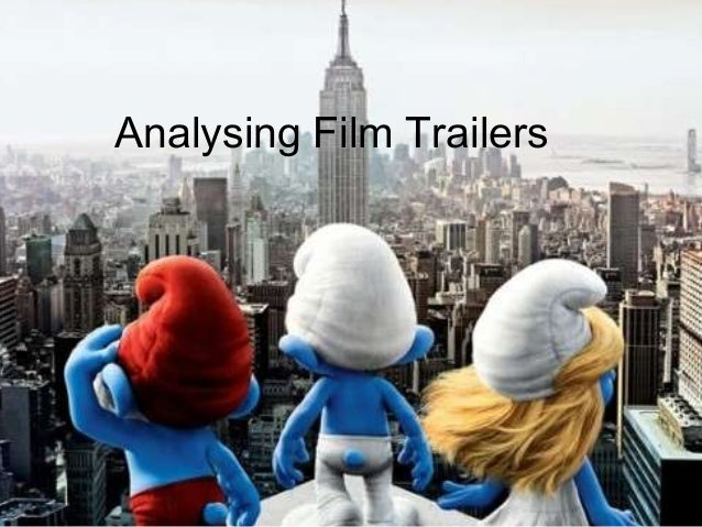 Analysing trailers   conventions & structure