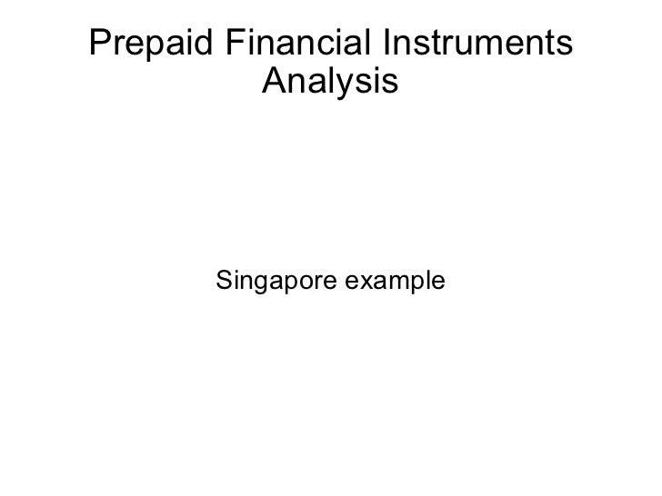 Prepaid Payment Regulatory Aspects