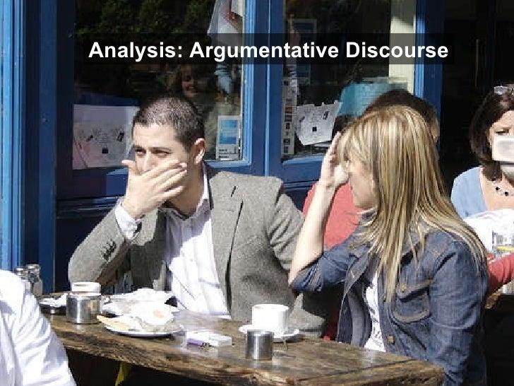 Analysis: Argumentative Discourse
