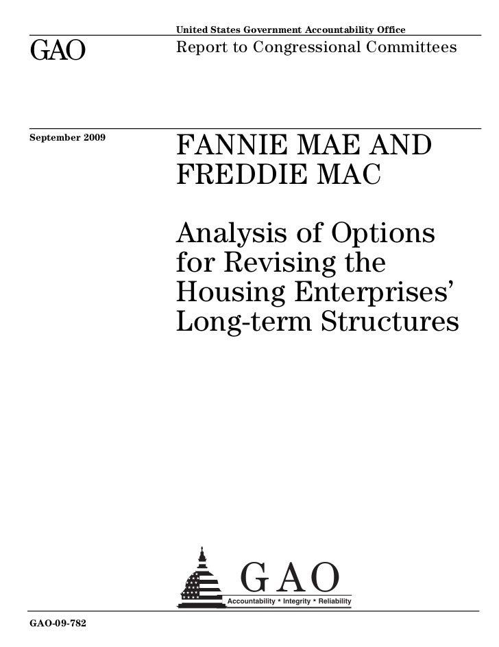 Analysis change-housing-financing-option