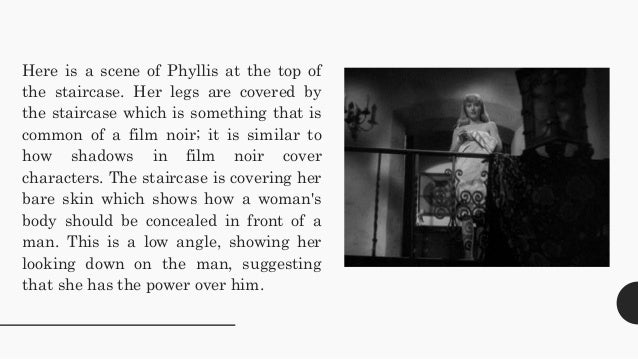 an analysis of double indemnity a film noir Genre and film noir – double indemnity| 01 study guide 11 genre and film noir – double indemnity contents curriculum hollywood, film noir, and the 1940s 02+03+04.