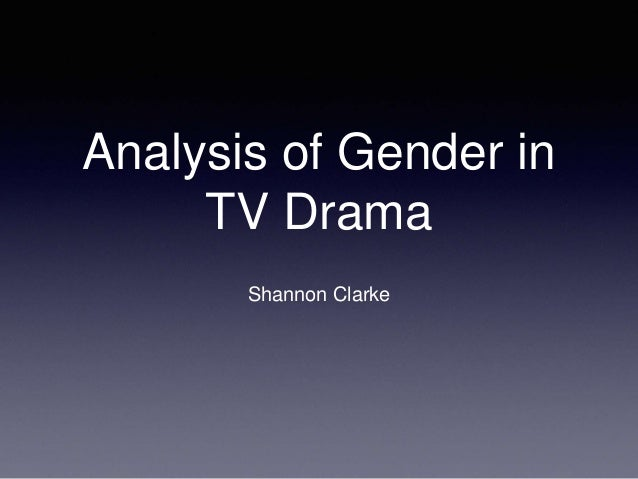 analysis of gender in childrens television Gender stereotyping in children's advertisements  gender stereotypes in advertising on children's television in  content analysis of gender differences in.