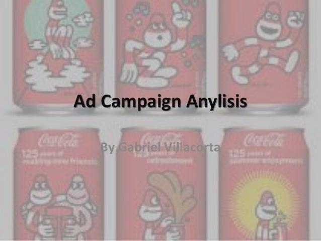 Ad Campaign Anylisis By Gabriel Villacorta