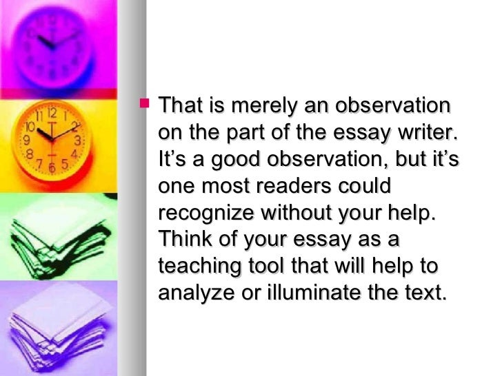 What should I write my literary analysis essay on?