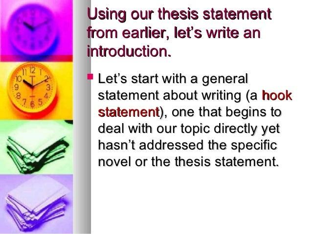 Hooks & Leads in Persuasive Writing - da Vinci School