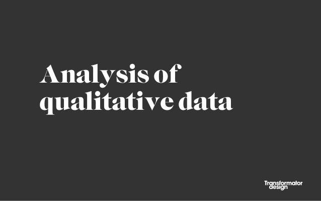 Götgatan Jam 2014 - Analysis of qualitative data