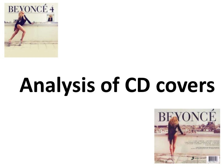 Analysis of CD covers