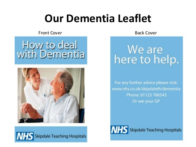 analysis of a leaflet Analysis of demetia leaflet 1 analysis of dementia leaflet 2 dementia leaflet • our short film has a close up shot of a dementia leaflet.