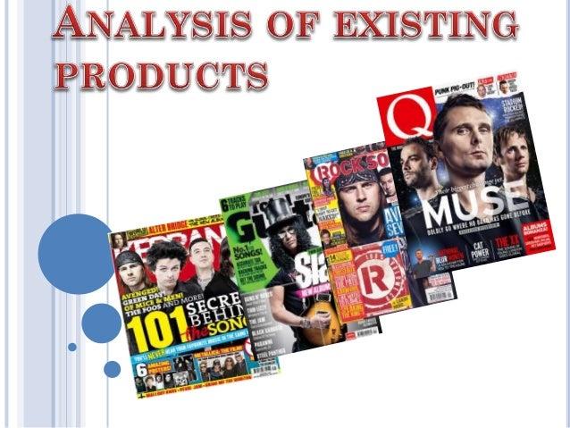 AS Media Analysis of Music Magazines